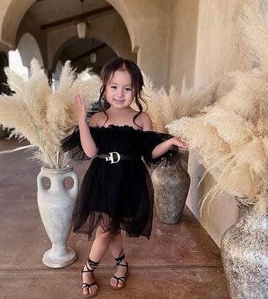 Tulle Dress (BLACK)
