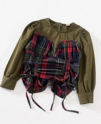Vanessa Plaid blouse