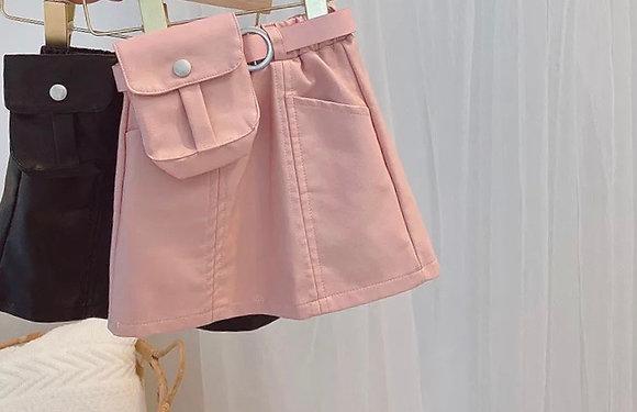 Veronica Leather Skirt