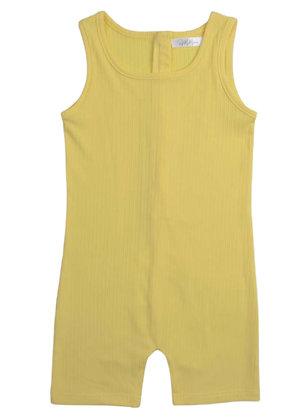 Jia Romper - Yellow