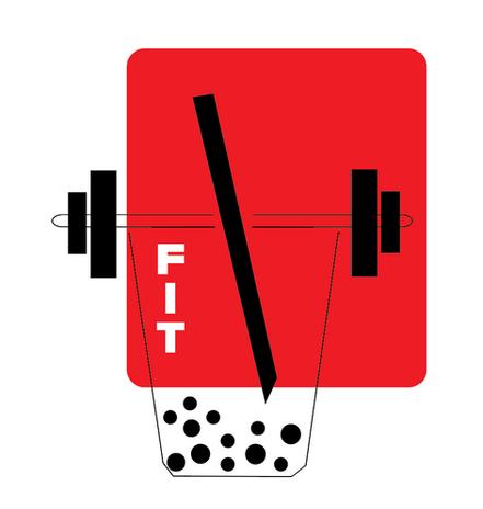 FIT Boba powder logo