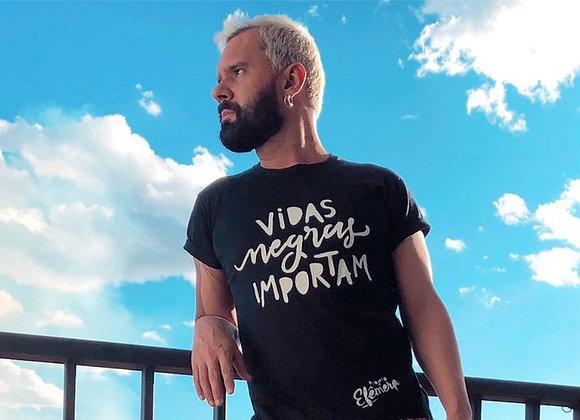 "Camiseta ""Vidas negras importam"""