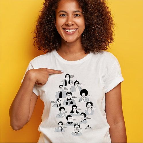 Camiseta Ícones (Unissex, todos os tamanhos)