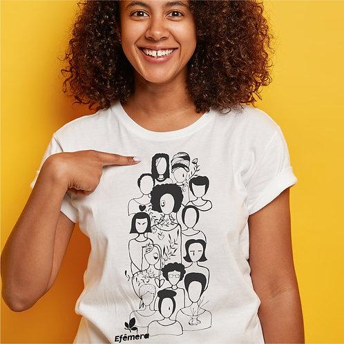 Camiseta Todas (Unissex, todos os tamanhos)