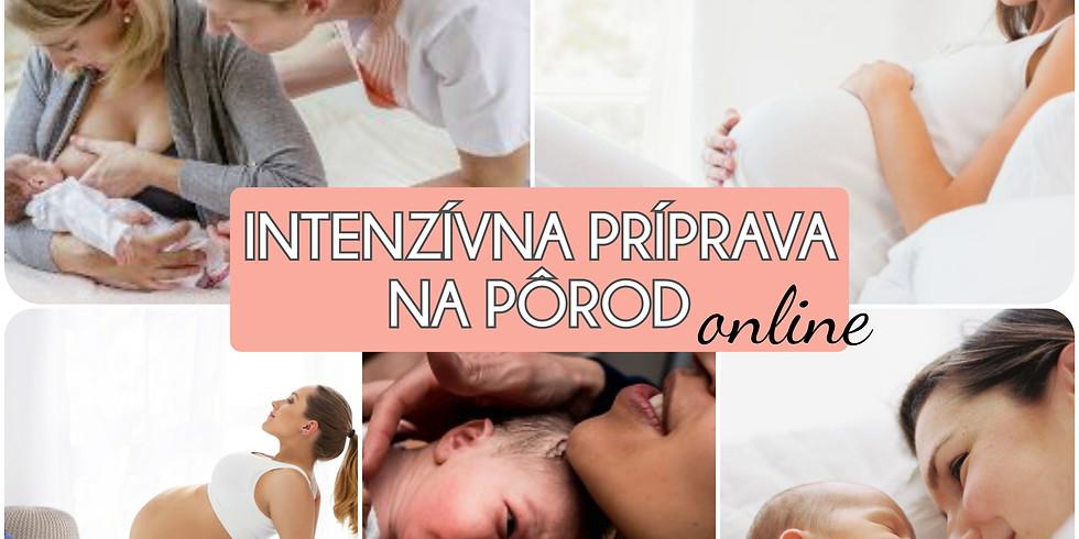 online INTENZÍVNA PRÍPRAVA na pôrod - 3odborníčky