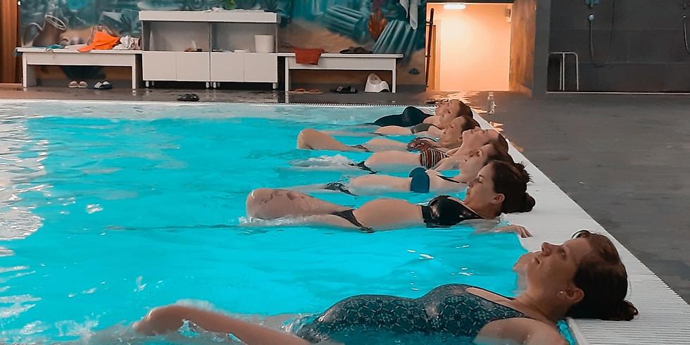 vstup AQUAPRENATAL cvičenie pre tehotné vo vode