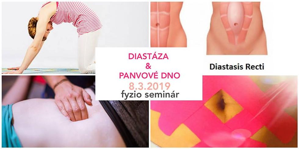 DIASTÁZA & Panvové dno - fyzio seminár pre ženy