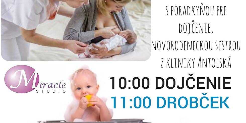 Piatkové workshopy Dojčenie a Drobček 6.3.2020