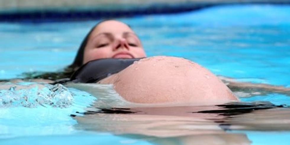 AQUAPRENATAL cvičenie vo vode pre tehotné utorok 18:40