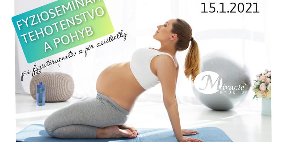 FYZIO SEMINÁR - Tehotenstvo a pohyb ONLINE