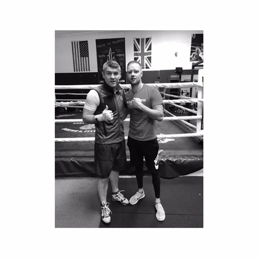 glenn holmes liam smith boxer training