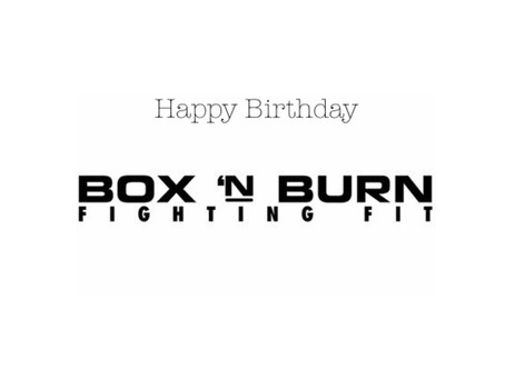 Happy Birthday Box 'N Burn