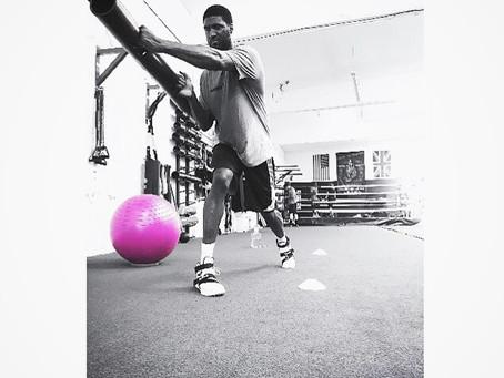 Vipr Training w/ Roy Hibbert @ Box 'N Burn, Santa Monica