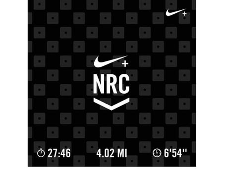 Running:Nike + Run Club App w/ Apple Watch