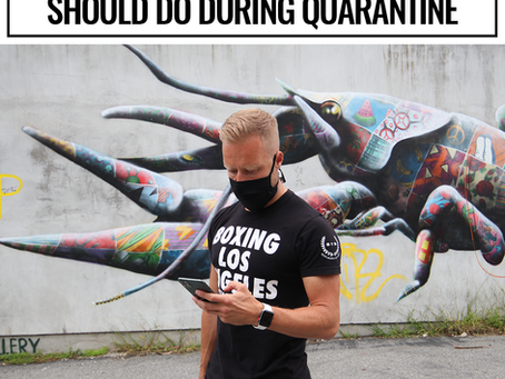 3 Things All Fitness Professionals Should Do During Quarantine