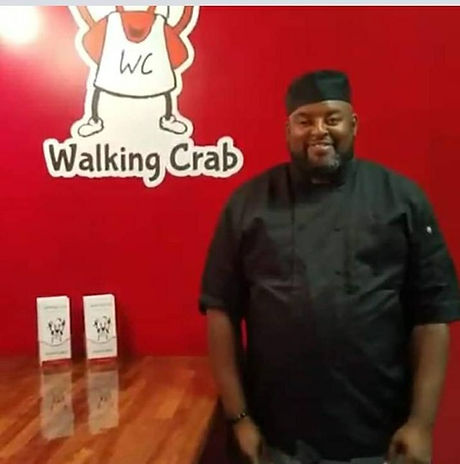 Chef Rob Walking Crab