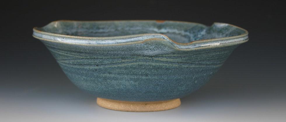 Medium Twist Blue Bowl B