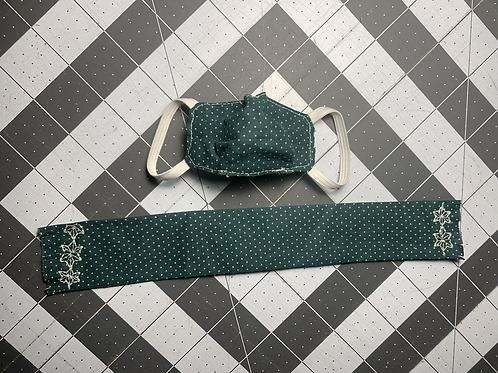 Elf sized mask & scarf