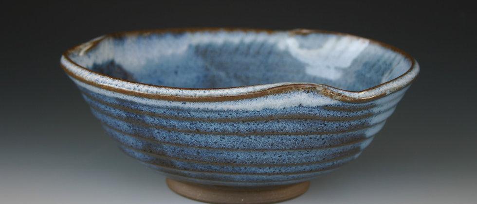 Medium Twist Blue Bowl A