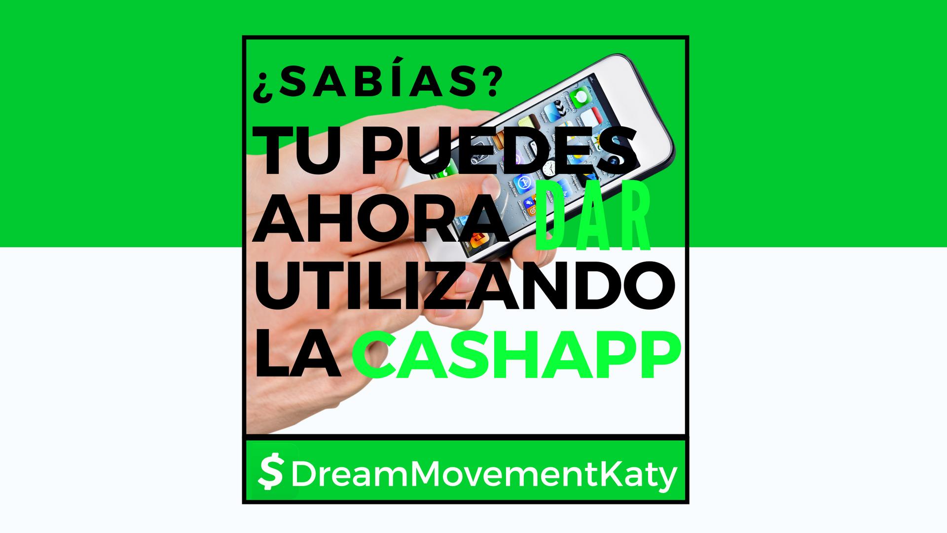 Tu Puedes Ahora Utilizando La CashApp