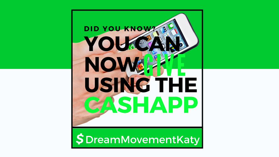 You Can Give Using CashApp