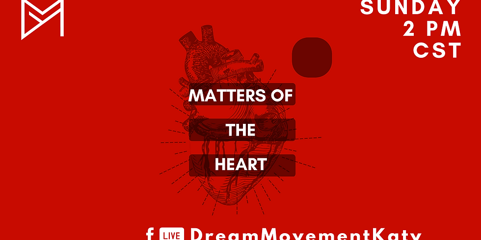 Facebook Live Sundays: Matters of the Heart