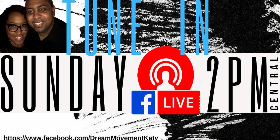 Sundays at 2 pm on Facebook Live