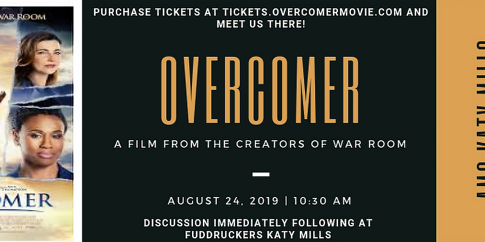 Overcomer Movie Viewing & Discussion