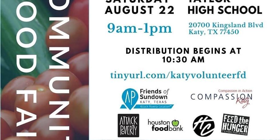 Friends of Sundown/Compassion Katy Community Food Fair