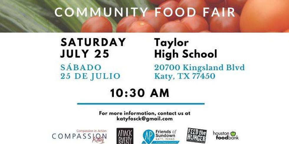 Friends of Sundown-Compassion Katy Community Food Fair