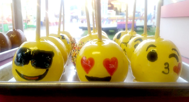 Emoji Candy Apples