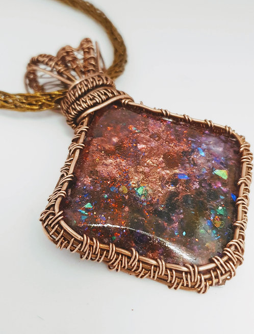 Galaxy Dimension Pendant