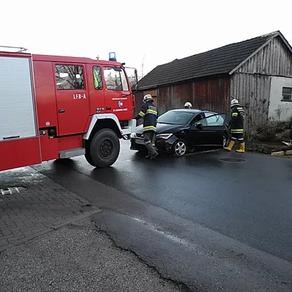 Verkehrsunfall in Gassen