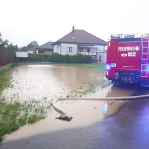 Hochwasseralarm in und um St. Leonhard