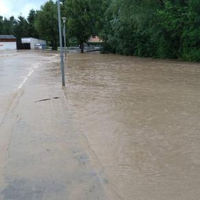 Hochwassereinsatz, Sonntag 18.  Juli 2021