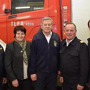 BR Othmar Strasser tritt den Feuerwehr-Ruhestand an