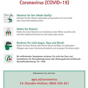 Schutzmaßnahmen COVID-19