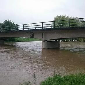 Hochwasservoralarme wurden ausgelöst