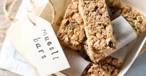 Healthy Treats: Homemade Muesli Bars
