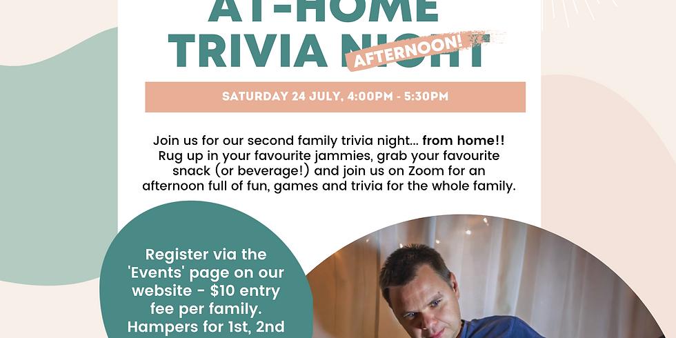 Online Family Trivia: Round 2!