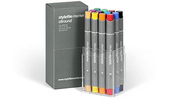 stylefile marker allround 12 pcs set