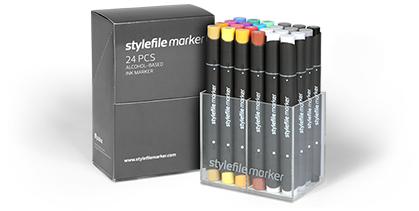 stylefile marker classic 24 pcs sets
