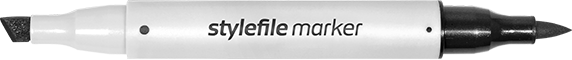 stylefile marker brush single marker