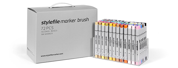 stylefile marker brush 72 pcs Main A set