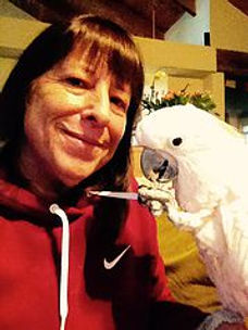 Dr. Babette Fontenot and Chicken