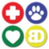 Bertrand Drive Animal Hospital Logo Buttons