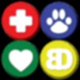 Bertrand Drive Animal Hospital Logo Buttons