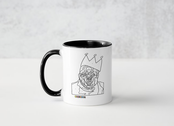 Big Poppa Coloring Mug by Will Porter Collection