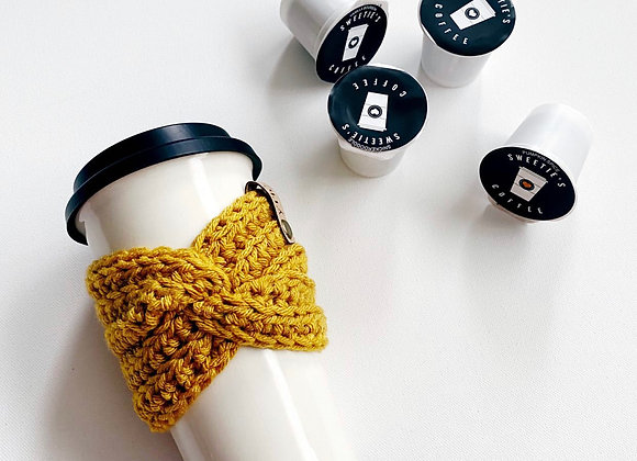 Cup Cozy Coffee Sleeves by Yarnth3ory