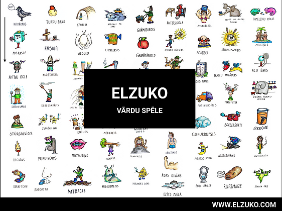 ELZUKO VĀRDU SPĒLE